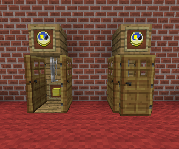 Minecraft Living Rooms: Grand Father Clock