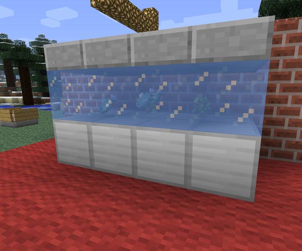 Minecraft Living Rooms: Aquarium