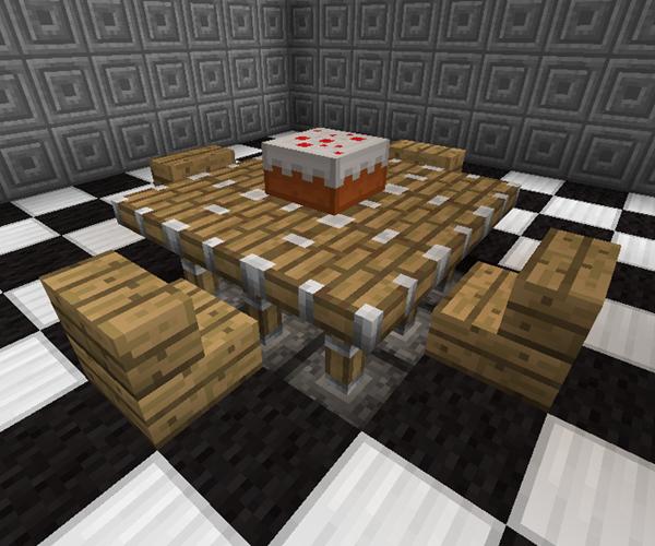 Kitchen Table Minecraft Furniture