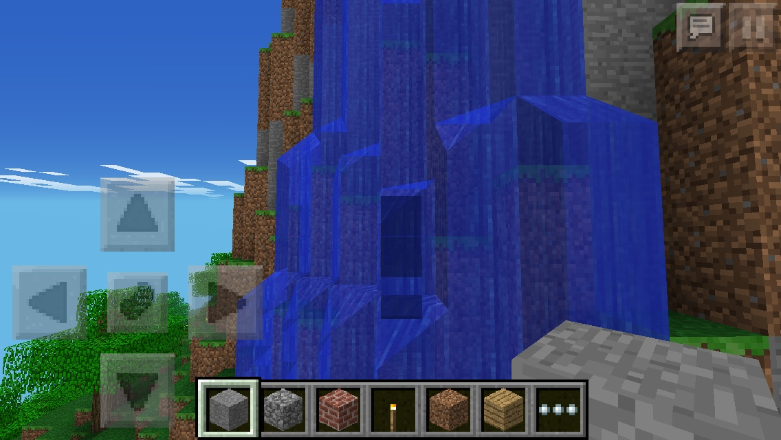 Waterfall House Safe From Mobs