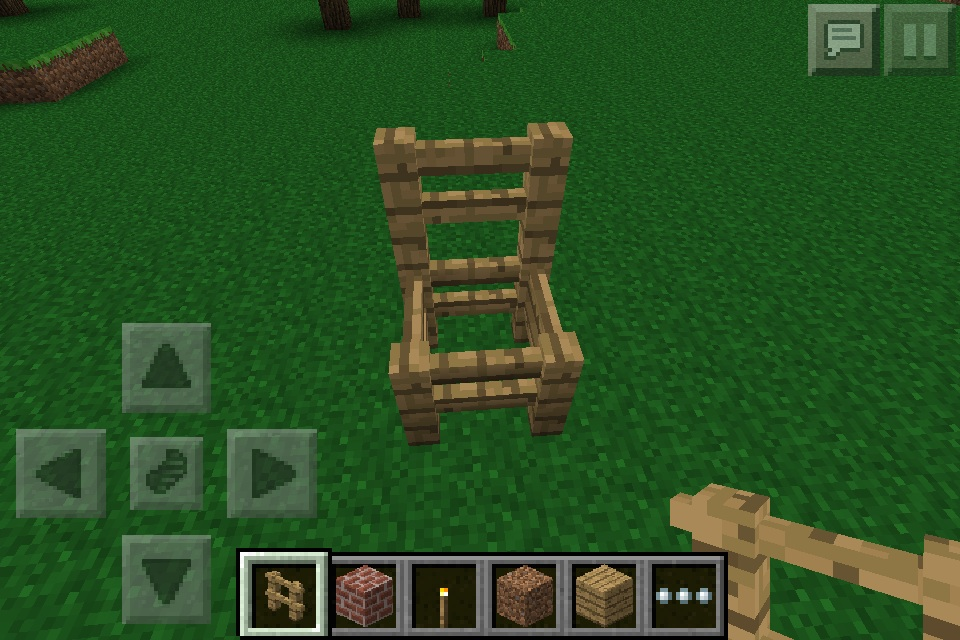 chair minecraft furniture