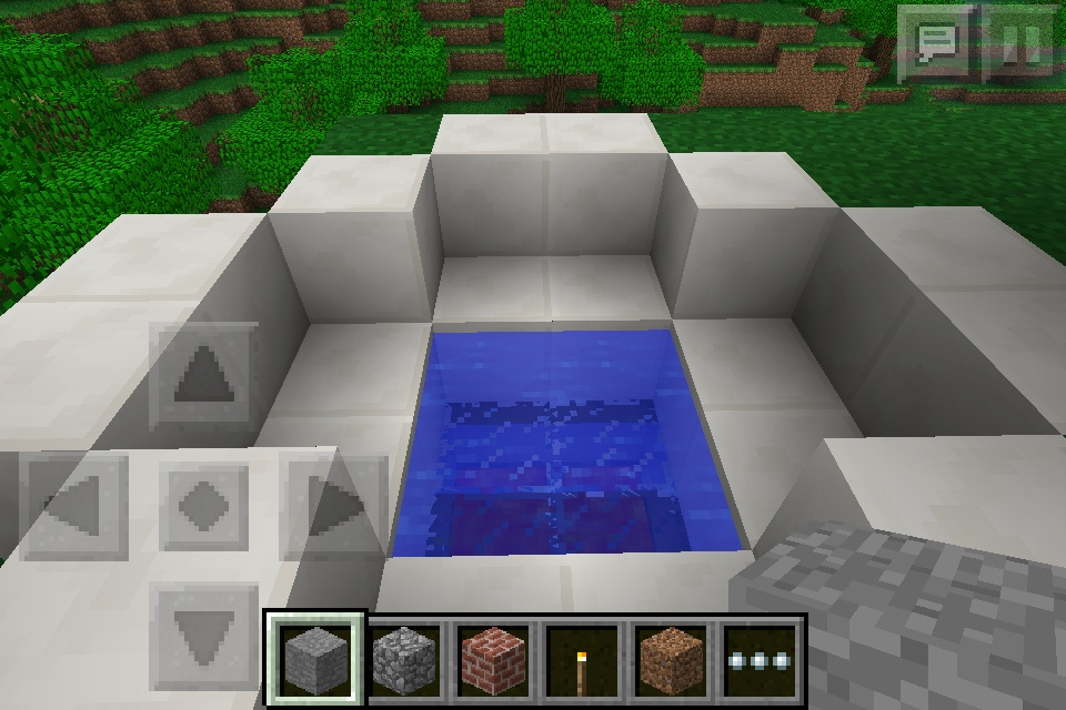 Minecraft Pocket Edition Bathroom Ideas : Hot tub minecraft furniture