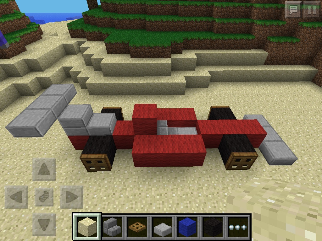 How To Make A Racecar Bed In Minecraft