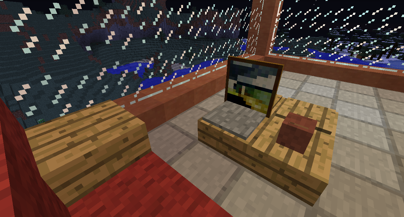 Coffee Table | Minecraft Furniture