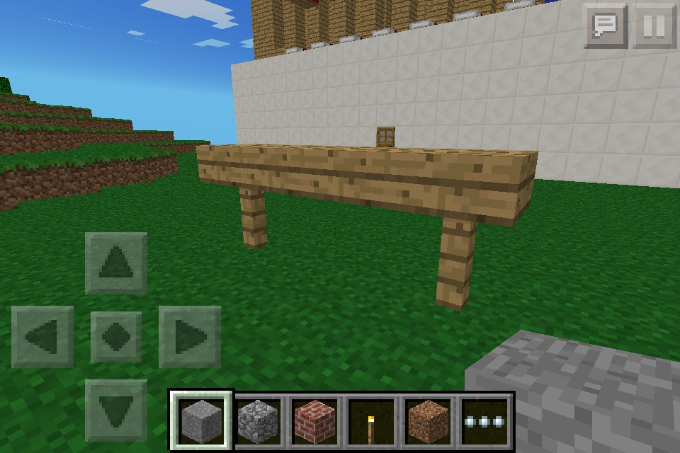 bench minecraft furniture