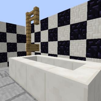 Simple Bathtub with Shower