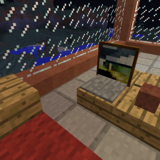 Coffee table minecraft furniture for Minecraft coffee table