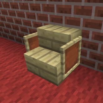 Chair (Using Item Frames)
