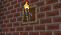 Wall Torch (Using Item Frame)