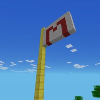 Minecraftian Flag